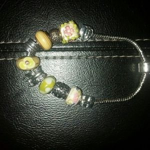 NWT Hand Crafted Charm Bracelet